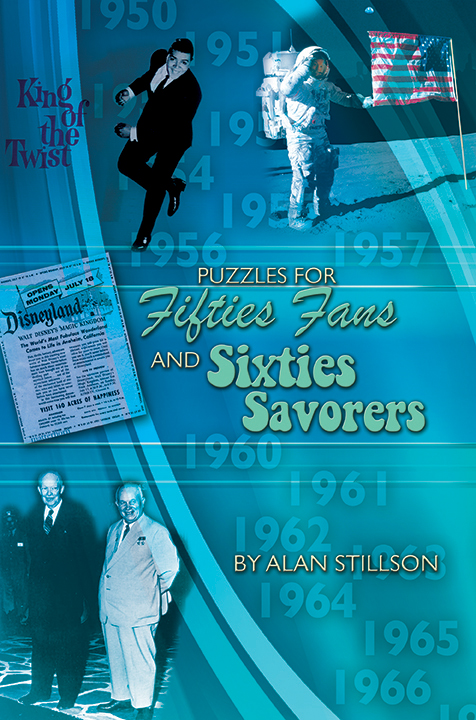 PUZZLES FOR FIFTIES FANS AND SIXTIES SAVORERS - E-Book