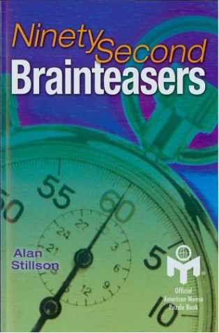 NINETY SECOND BRAINTEASERS